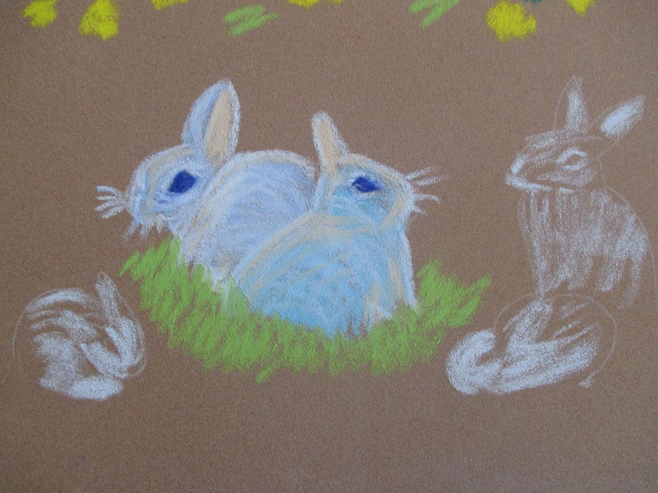 Les lapins bleus (2)