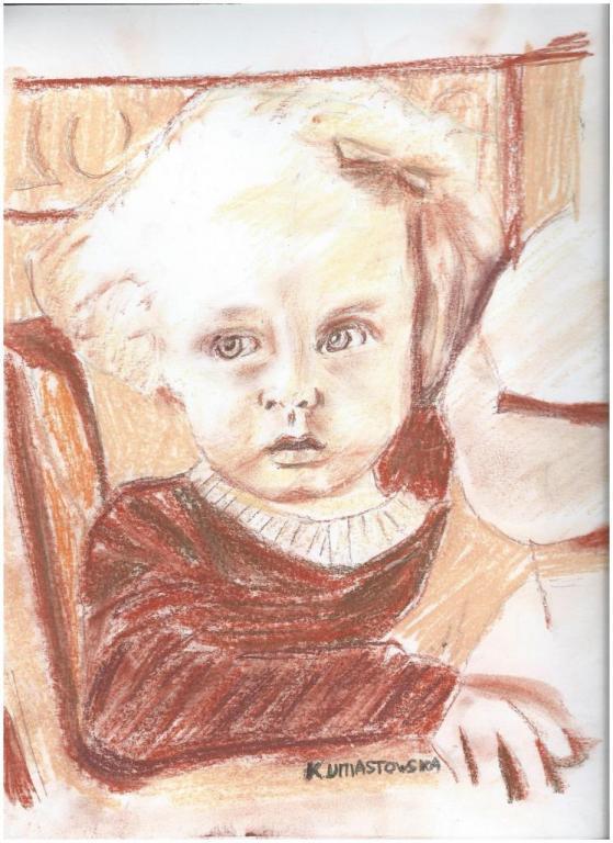 Petite fille au doudou