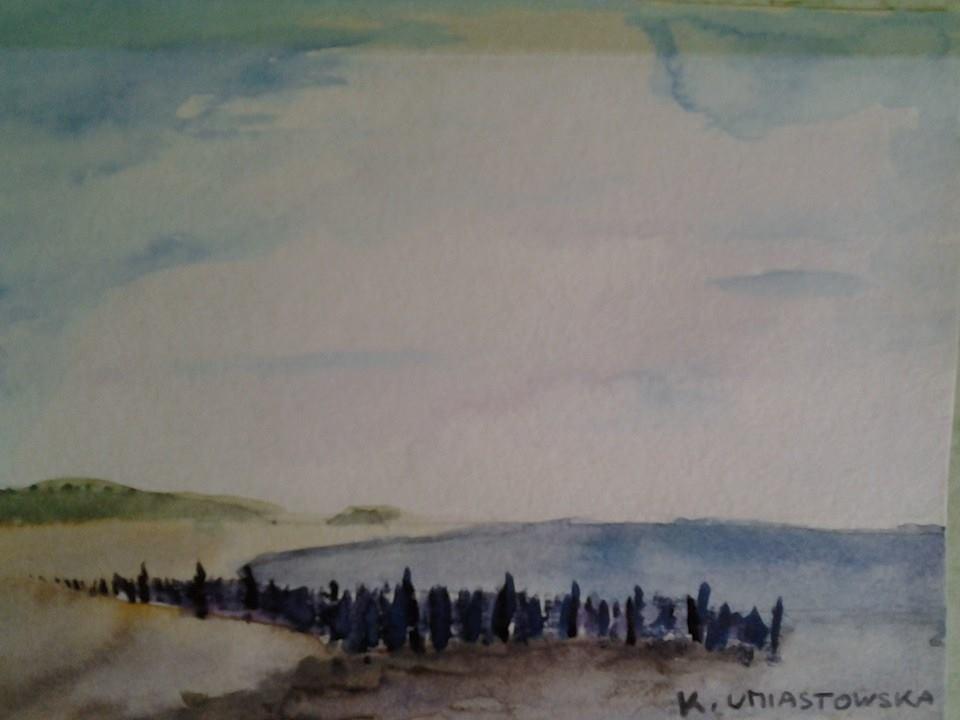 Bord de mer, par Krystyna Umiastowska