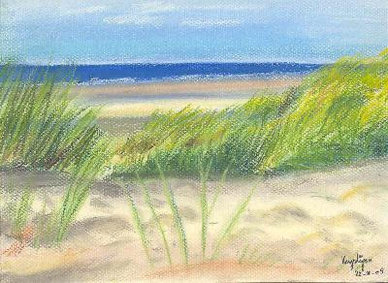 Dunes de sable, par Krystyna Umiastowska
