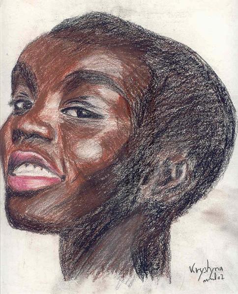 Femme africaine, par Krystyna Umiastowska
