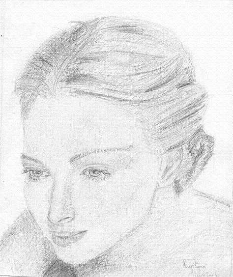 Femme songeuse,  par Krystyna Umiastowska