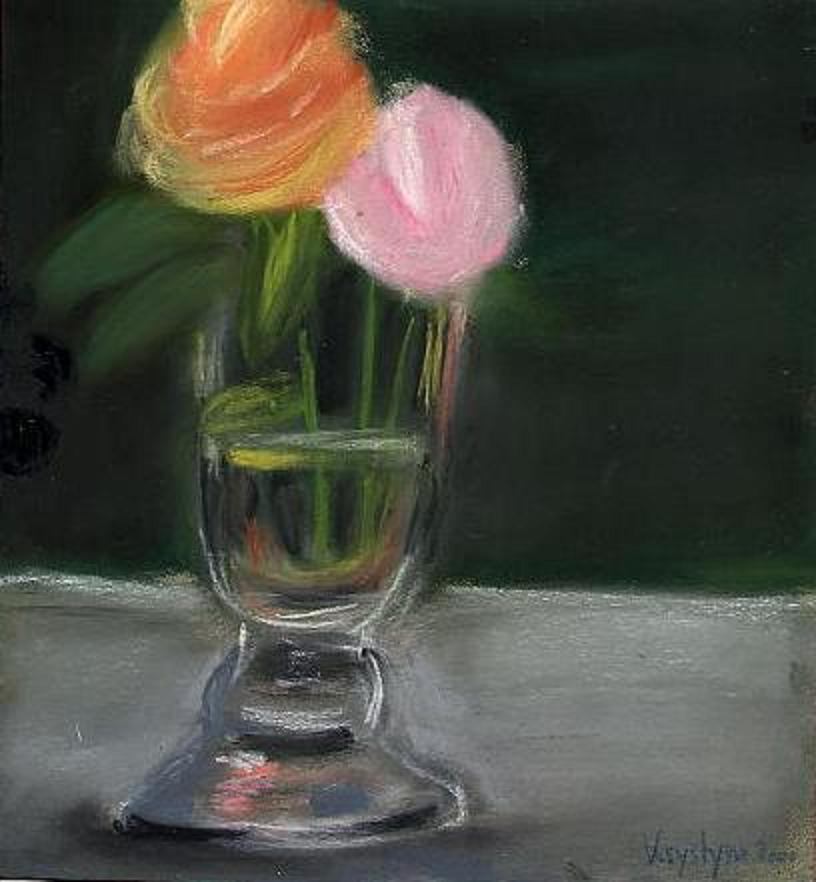 Fleurs, par Krystyna Umiastowska