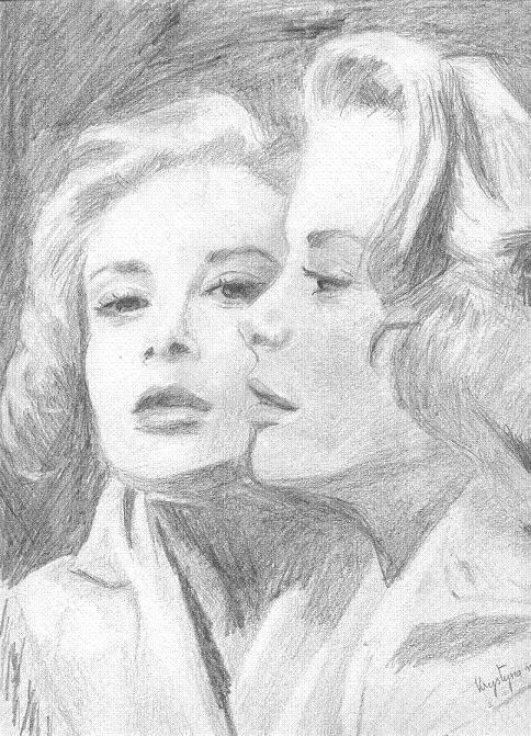 Grace Kelly, par Krystyna Umiastowska