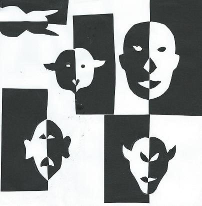 Grimaces, par Krystyna Umiastowska