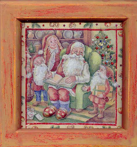 Le repos de Père Noël, par Krystyna Umiastowska