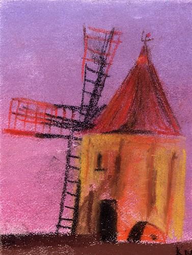 Moulin, par Krystyna Umiastowska