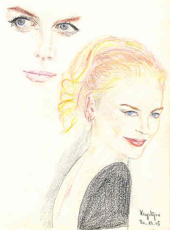 Nicole Kidman, par Krystyna Umiastowska
