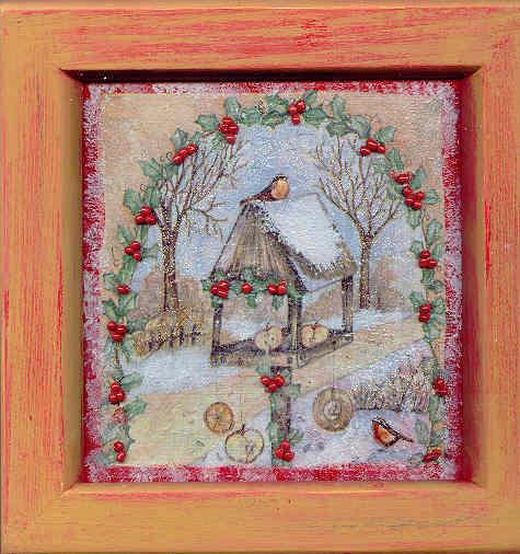Oiseaux en hiver, par Krystyna Umiastowska