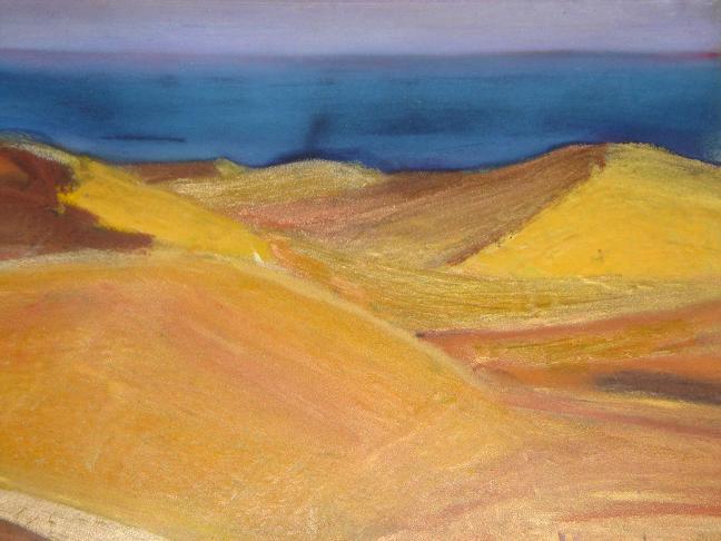 Perdu dans le désert,  par Krystyna Umiastowska