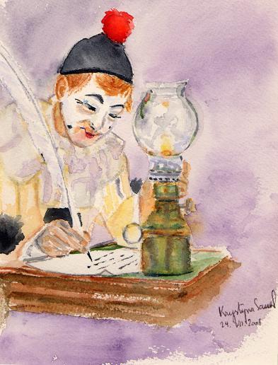 Prête-moi ta plume, par Krystyna Umiastowska
