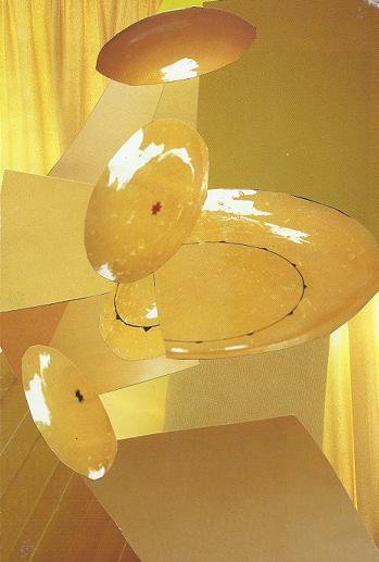 Quelque chose de jaune, par Krystyna Umiastowska