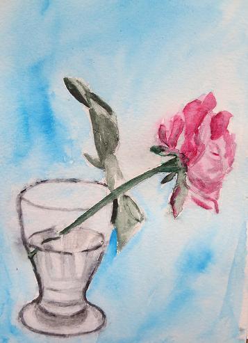Rose, par Krystyna Umiastowska